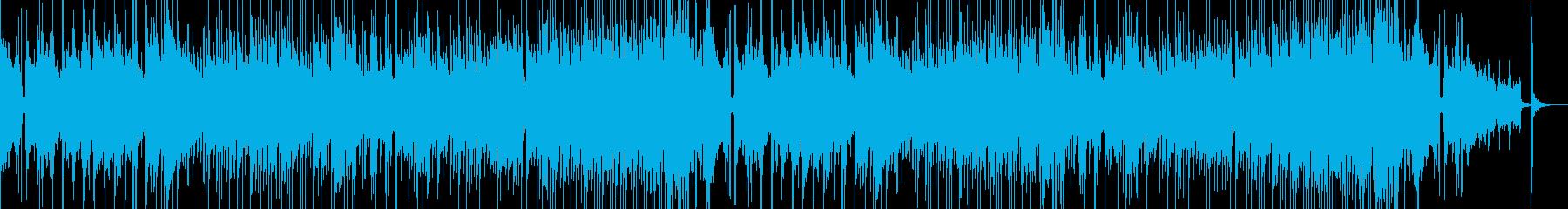 童謡を引用!落ち着いた日常系日本・和風曲の再生済みの波形
