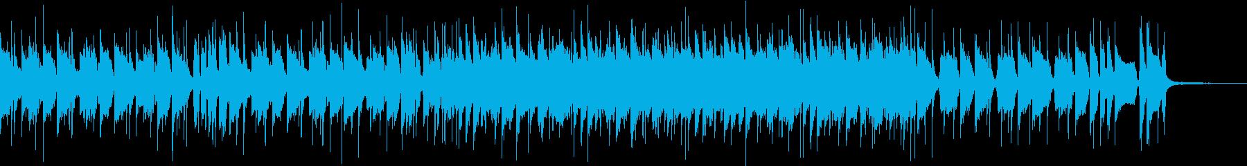 まったりゆったり系ファンクポップスの再生済みの波形