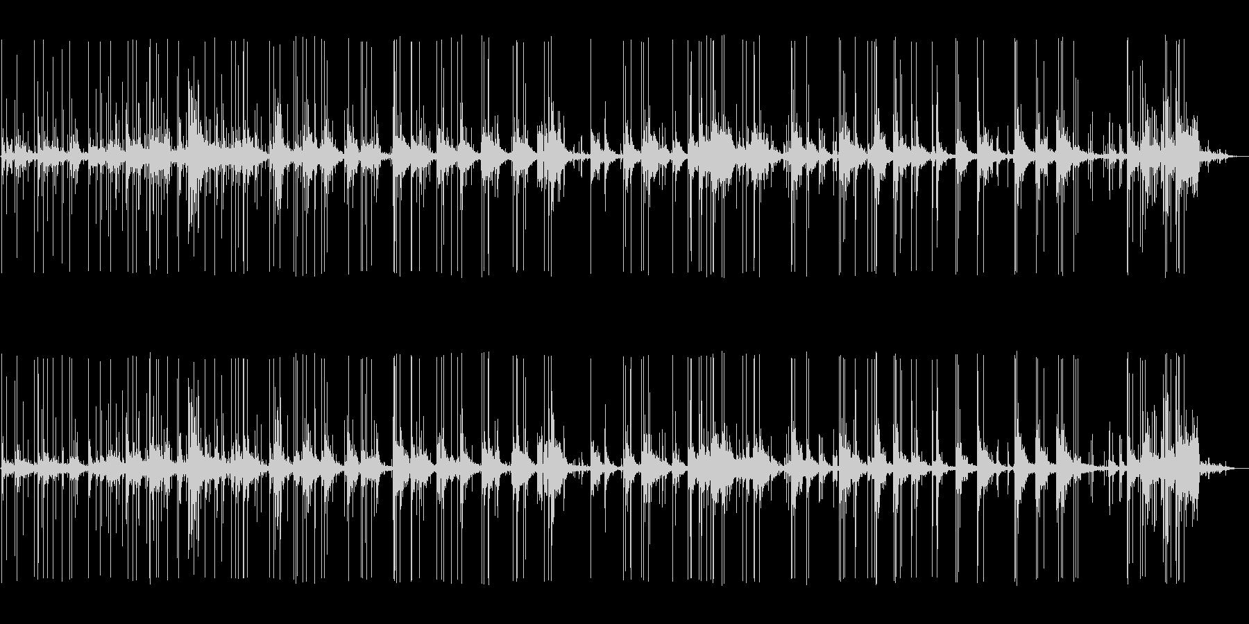 花火 花火アトモ01の未再生の波形