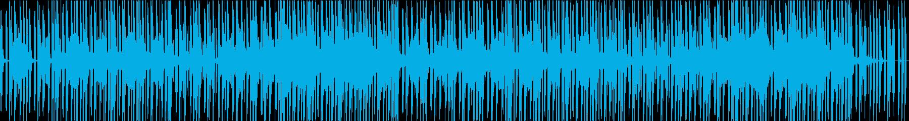 おしゃれ、チル、LOFI HIPHOP の再生済みの波形
