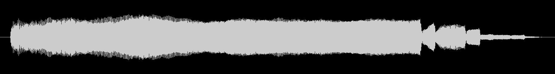 シンセサイザー 金属オルガン03の未再生の波形