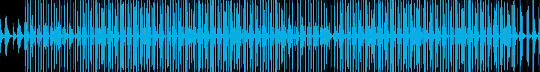 【ループ】まったり、LoFiヒップホップの再生済みの波形