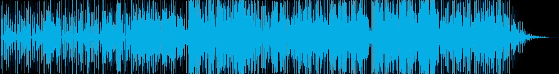 動画 アクション 技術的な 感情的...の再生済みの波形