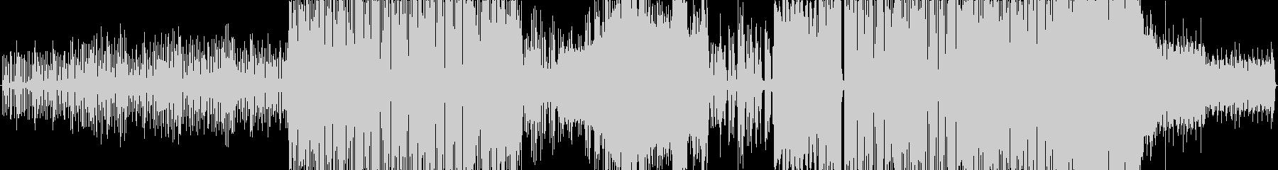 巳から龍になるイメージのエレクトロポップの未再生の波形