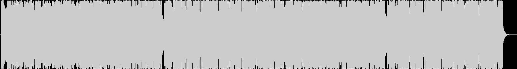 可愛くて切ないFuture Bassの未再生の波形