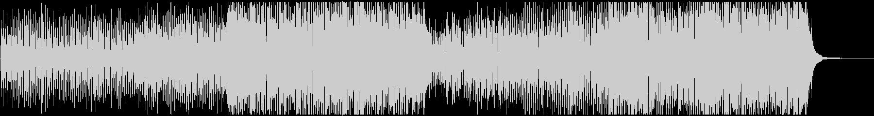 ウクレレを使用したスイングジャズ風な曲の未再生の波形