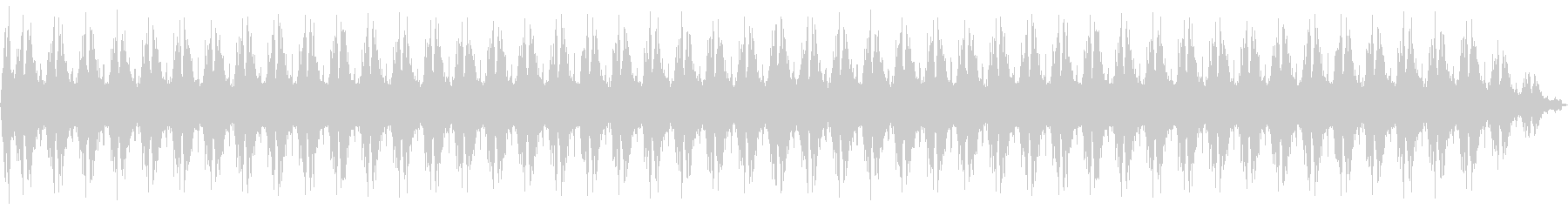 魔法詠唱、魔法発動、独白 01の未再生の波形