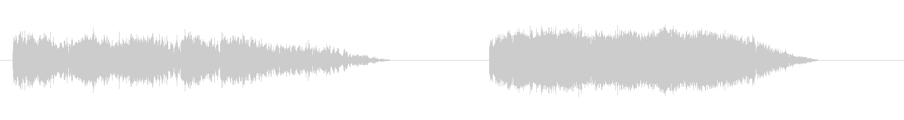 加工アークによるエネルギーボルトの...の未再生の波形