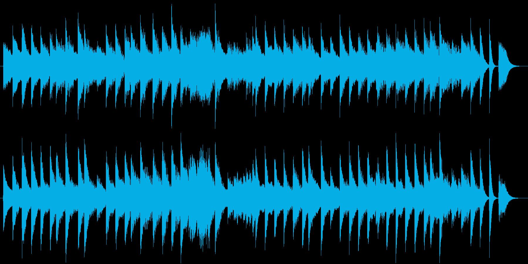 ノスタルジックで軽やかなピアノジングルの再生済みの波形