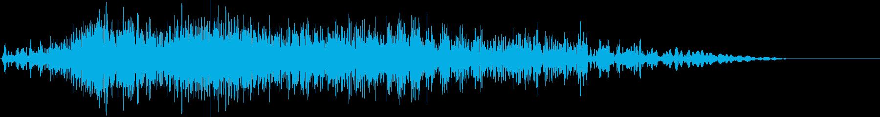 ローエンドヒューシュインとフィルタ...の再生済みの波形