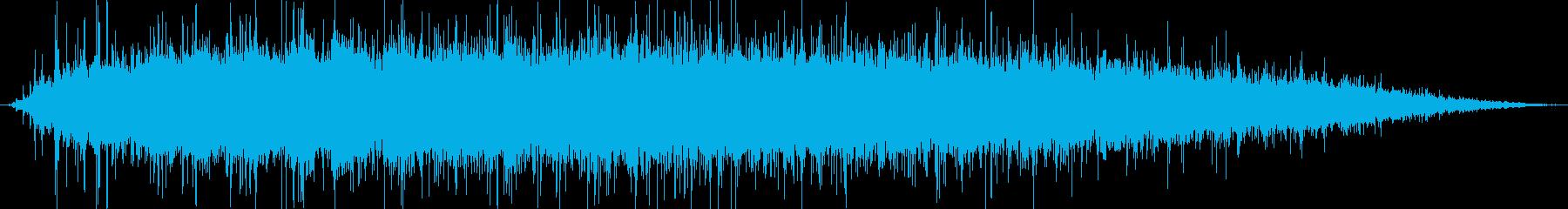中屋内観客:クラシックコンサートホ...の再生済みの波形