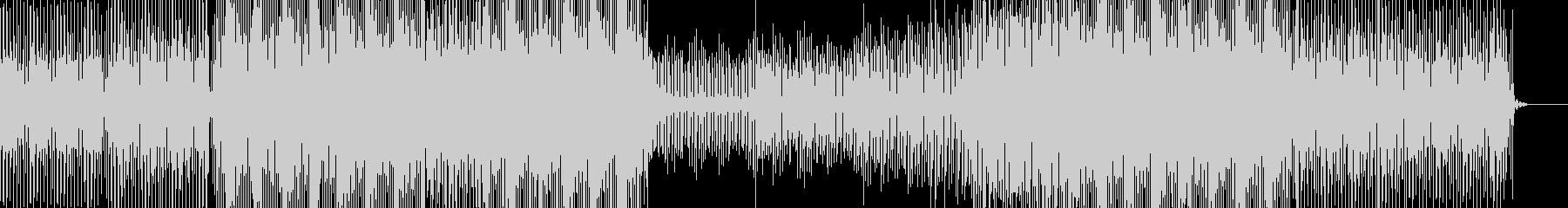 とても盛り上がる曲ですの未再生の波形