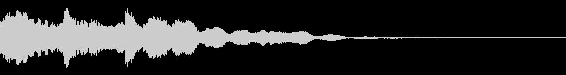 オープニング用サウンドロゴ67の未再生の波形