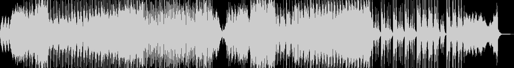 ホラー・怪談シーンに適したBGM 長尺の未再生の波形