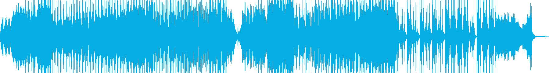 ホラー・怪談シーンに適したBGM 長尺の再生済みの波形