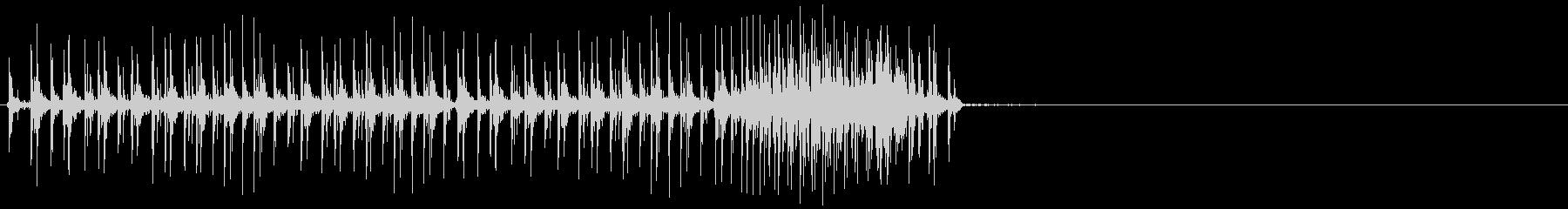 クランク付きラチェット:中型風、漫...の未再生の波形