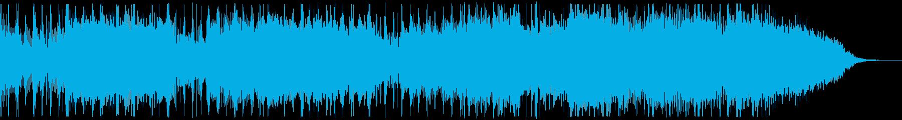 バンド系のロックの再生済みの波形