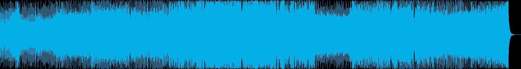 電子、科学、爽やかなエレクトロの再生済みの波形