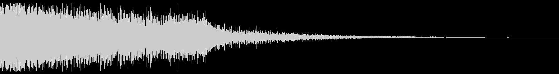 ゴジューーーン(魔法攻撃)の未再生の波形