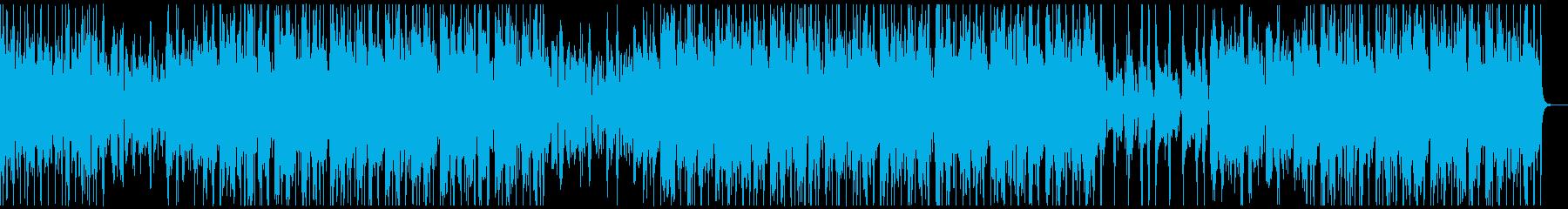 ローファイでチルなビートの再生済みの波形