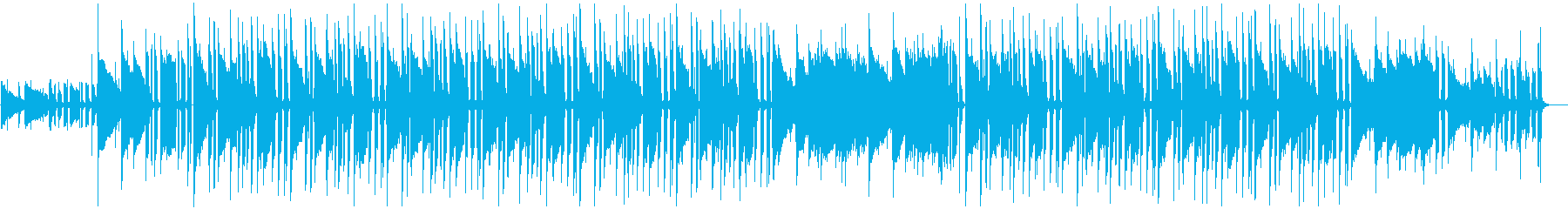 【チルアウト】穏やかで少し切ない映像に〇の再生済みの波形
