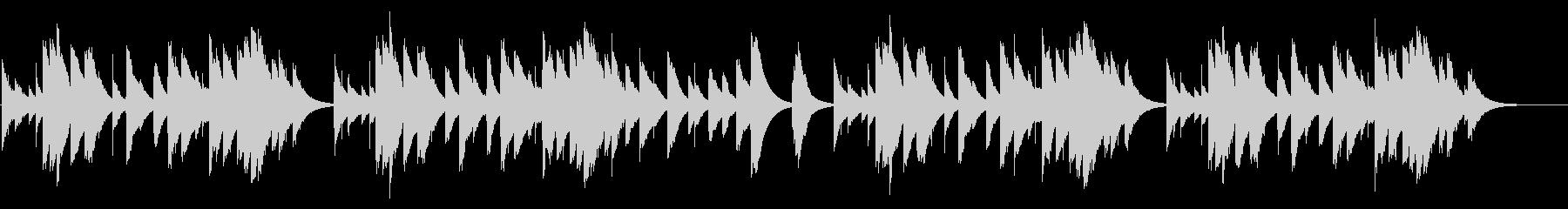 赤とんぼ カード式オルゴールの未再生の波形