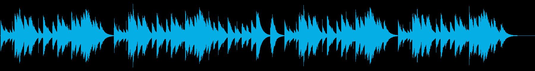 赤とんぼ カード式オルゴールの再生済みの波形