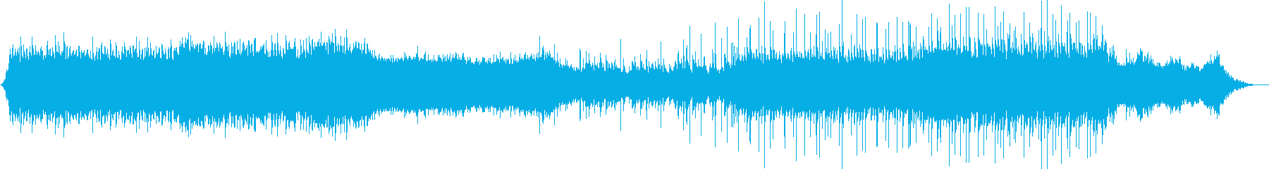 宇宙に想いを馳せる広大なシューゲイザーの再生済みの波形