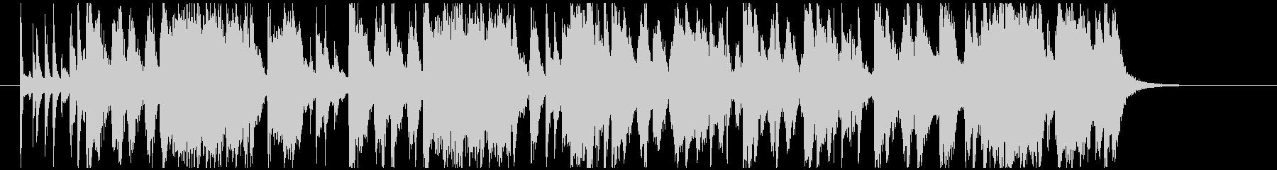 クイズ考え中のBGMの未再生の波形