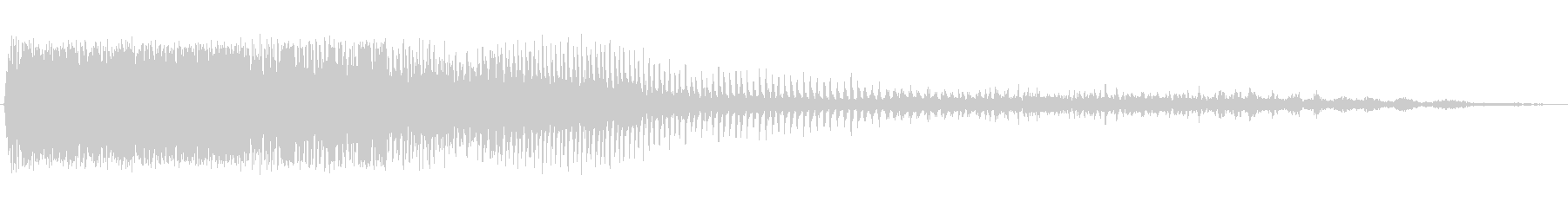 電動のこぎり ギュワーーンの未再生の波形