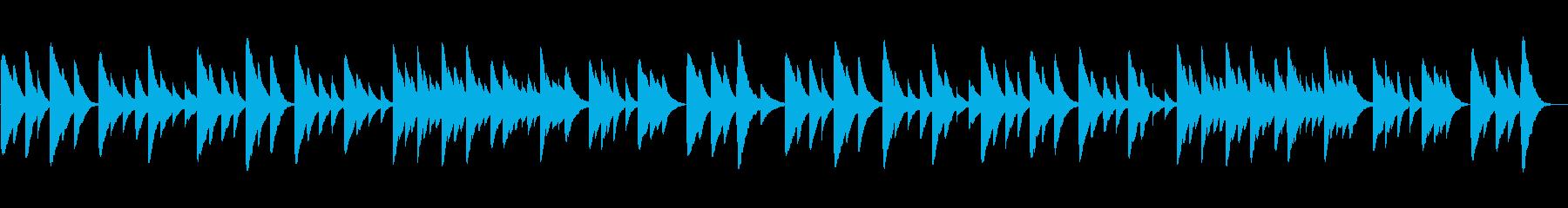 Aura Leeのオルゴールアレンジの再生済みの波形