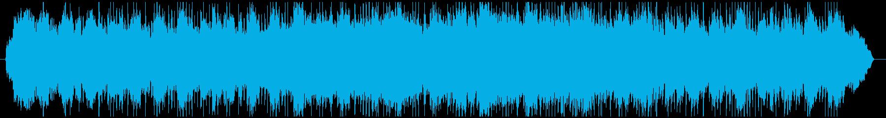 雄大で神秘的な自然をイメージしたBGMの再生済みの波形