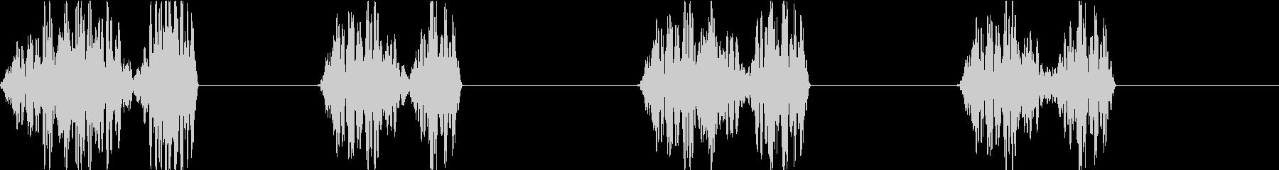 DJプレイ スクラッチ・ノイズ 248の未再生の波形
