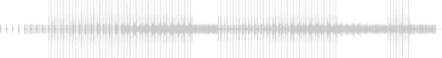 ブルージーなlo-fi風ビートです。の未再生の波形