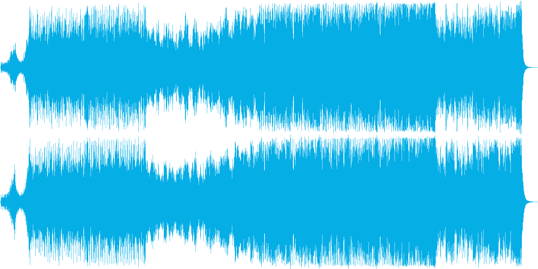 シネマティック 勝利者 ハイテク ...の再生済みの波形