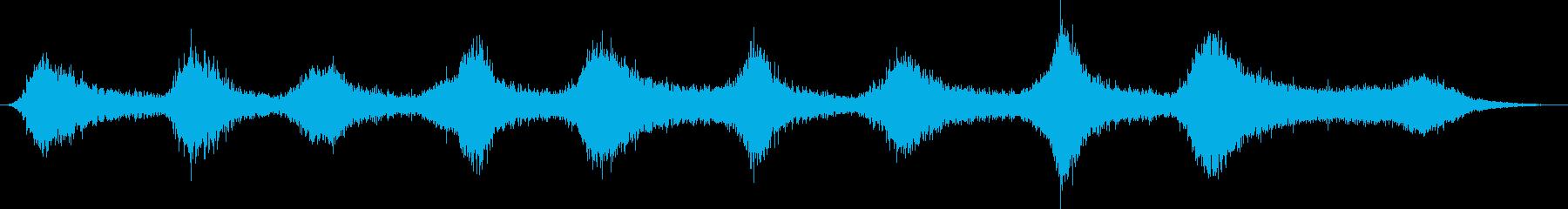 ピアノ:コンスタントヘビーストリン...の再生済みの波形