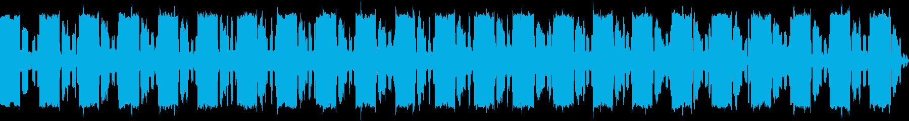 コミュニケーションとデータ送信の効...の再生済みの波形
