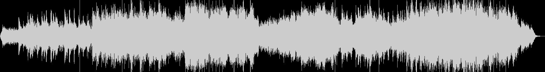 ボサノバ風ポップの未再生の波形