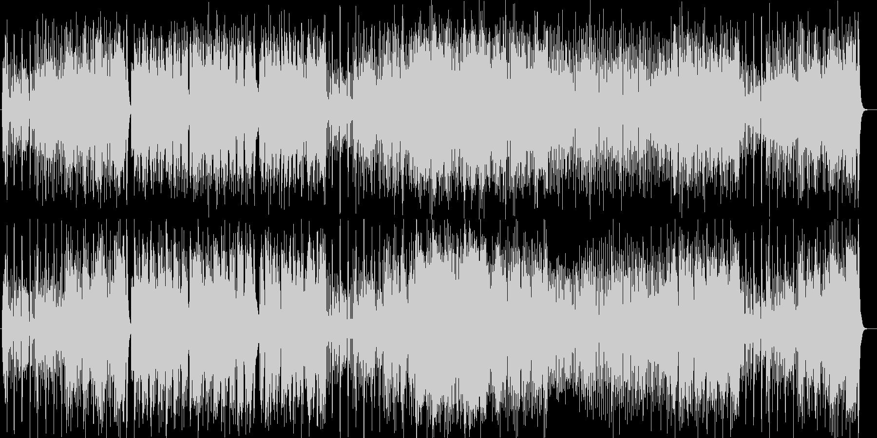 疾走感のあるピアノポップスの未再生の波形