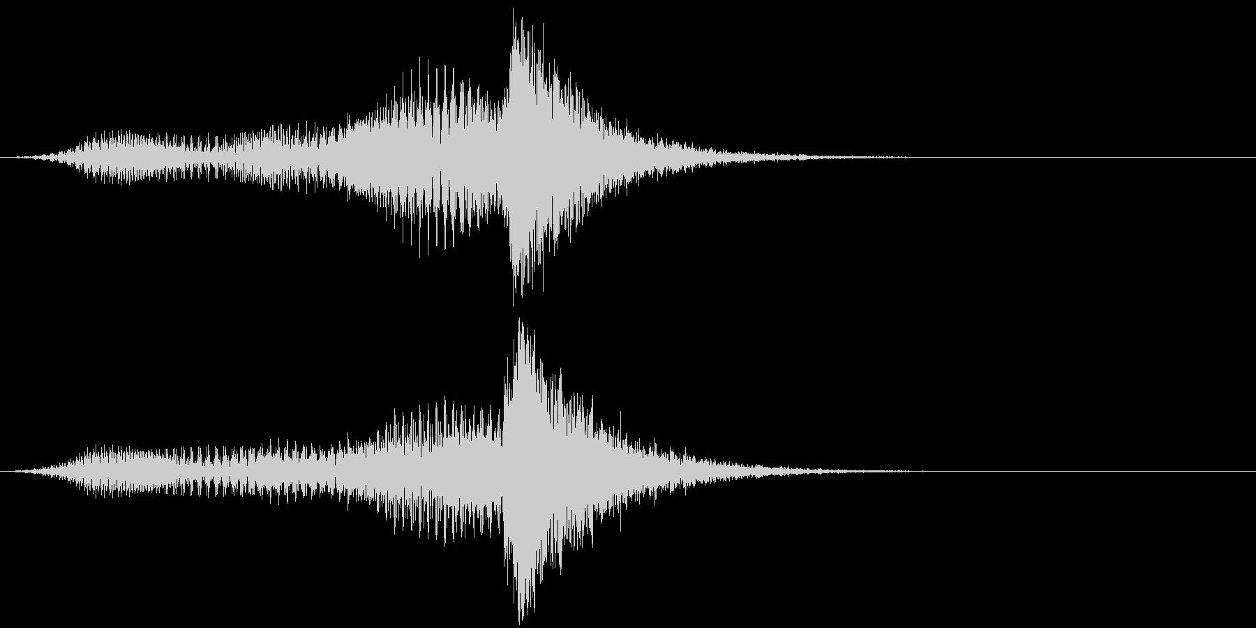 音楽スティンガー;ホラーストリング...の未再生の波形