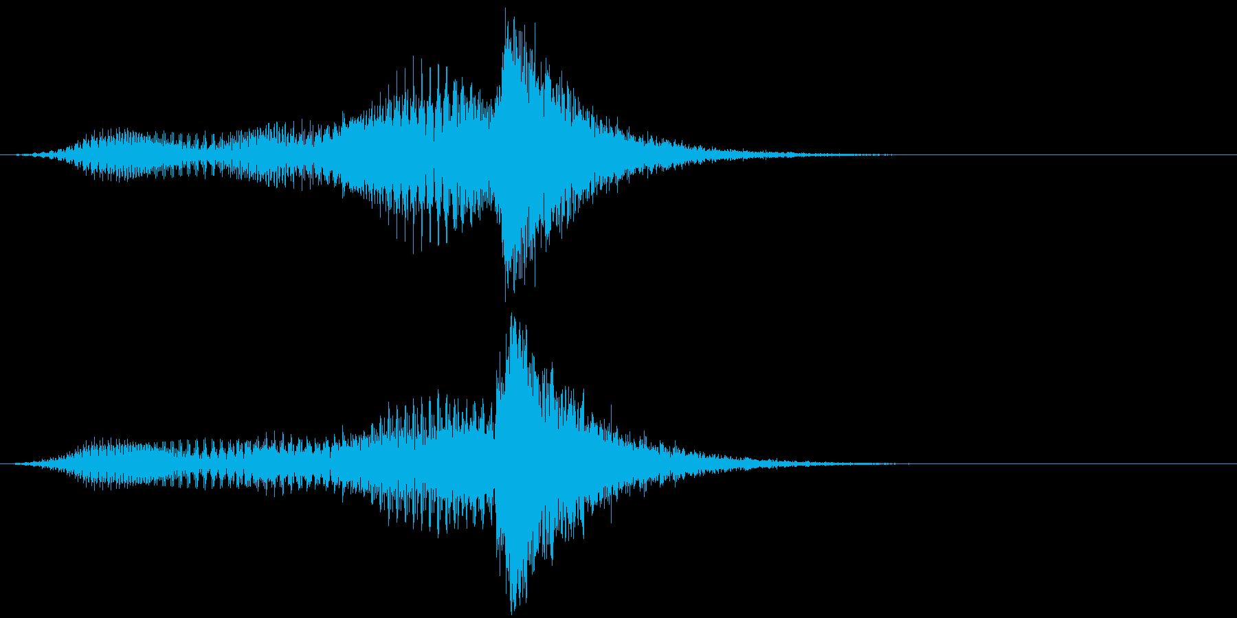 音楽スティンガー;ホラーストリング...の再生済みの波形