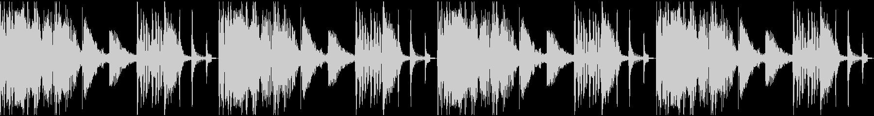 【エレクトロニカ】ロング4、ショート1の未再生の波形