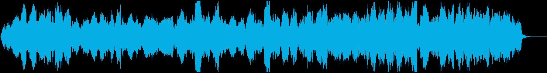 チェロとホルンの切ないBGMの再生済みの波形