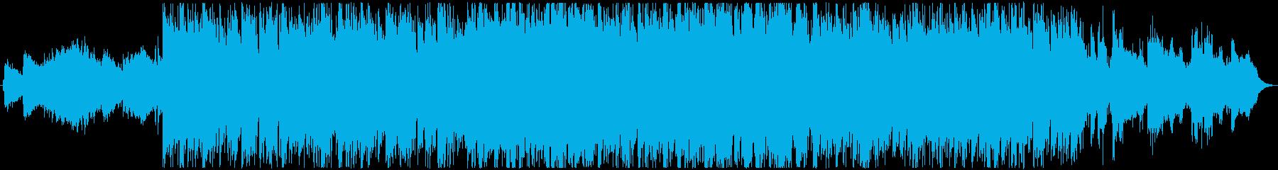 ポップ センチメンタル 感情的 ク...の再生済みの波形