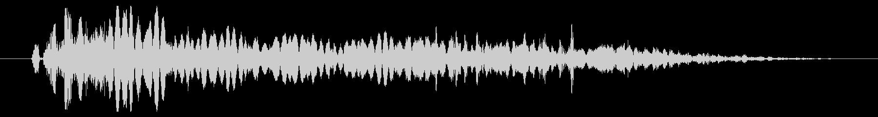 プラズマパワーフェイルバーストの未再生の波形