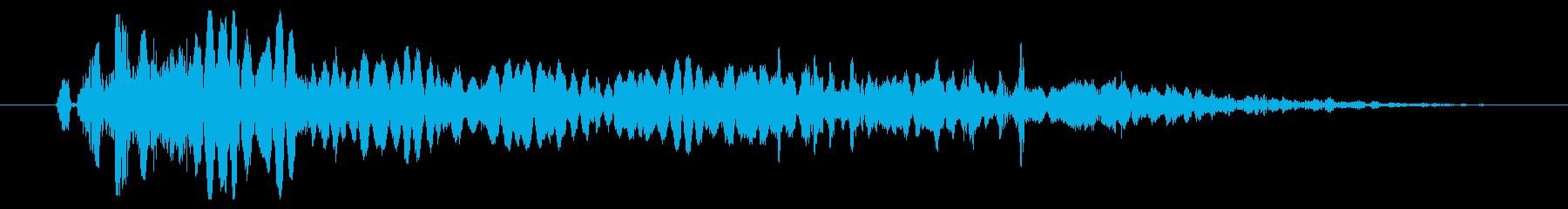 プラズマパワーフェイルバーストの再生済みの波形