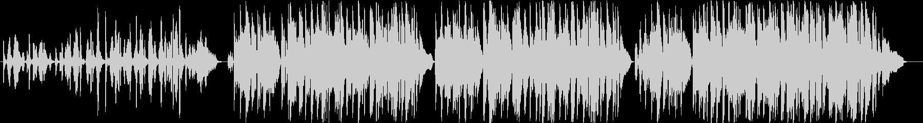 フランス・感傷的なアコーディオンのワルツの未再生の波形
