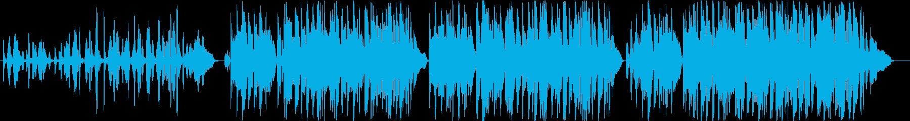 フランス・感傷的なアコーディオンのワルツの再生済みの波形