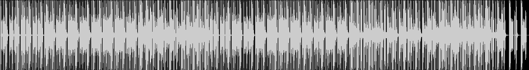 ダンジョン探索のようなHiphopの未再生の波形