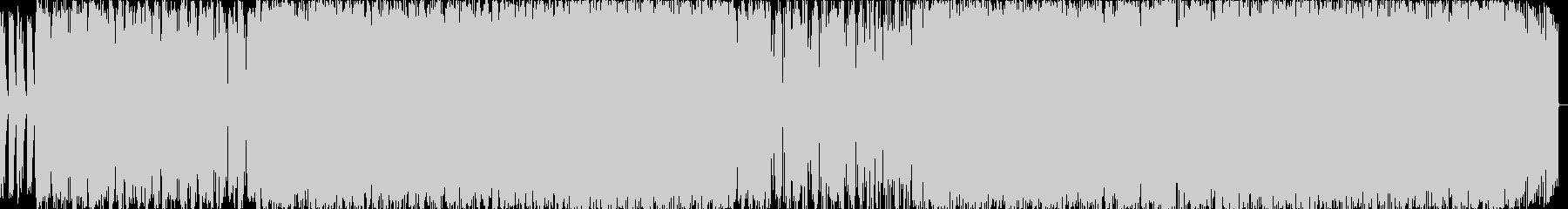 フルートアシッドジャズの未再生の波形